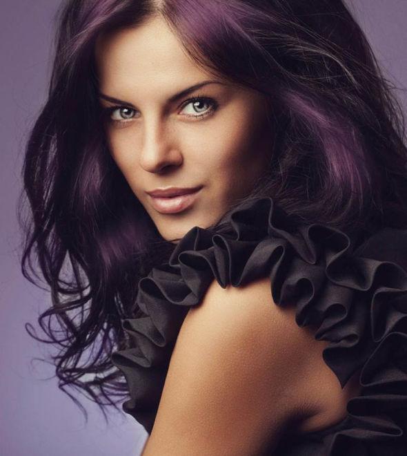 spesso Ancora viola? Si, sui capelli - Cipria Magazine KI45