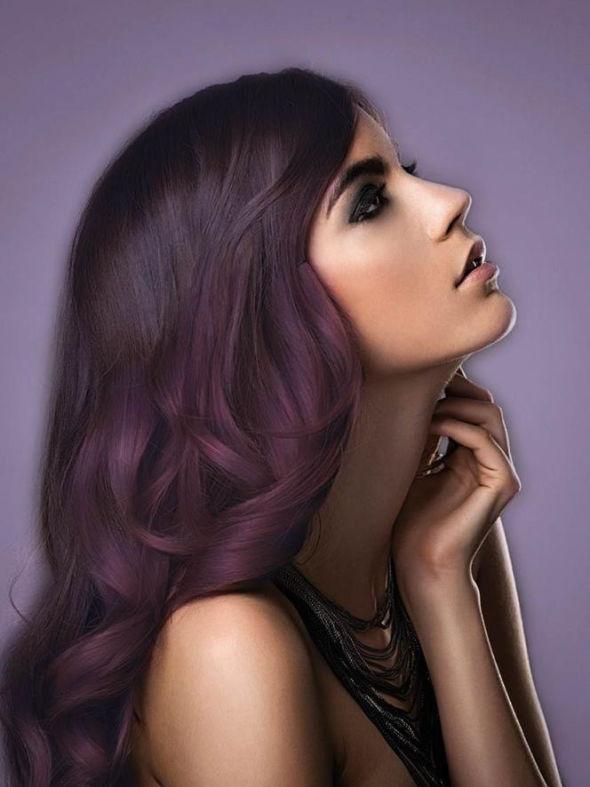 Super Ancora viola? Si, sui capelli - Cipria Magazine CC31
