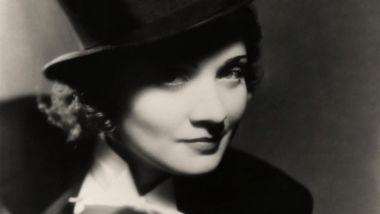 Marlene Dietrich nel film Morocco (1930)