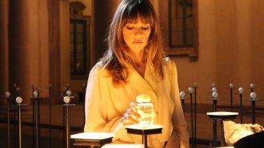 Gaia Trussardi nel Back Stage