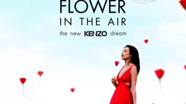 Flower in the air Kenzo