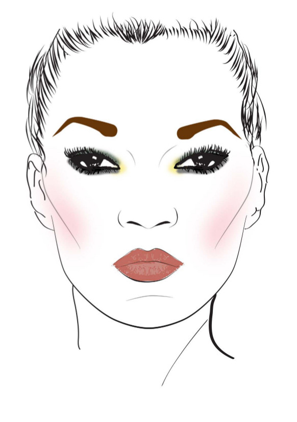 Make up Kate Moss Face_Charts_3