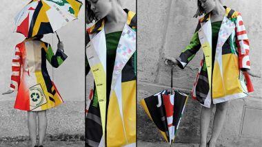 Impermeabili e ombrelli della collezione Arti.ficio