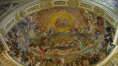 """La """"Cappella Sistina"""" della Chiesa dei SS. Quattro Incoronati"""