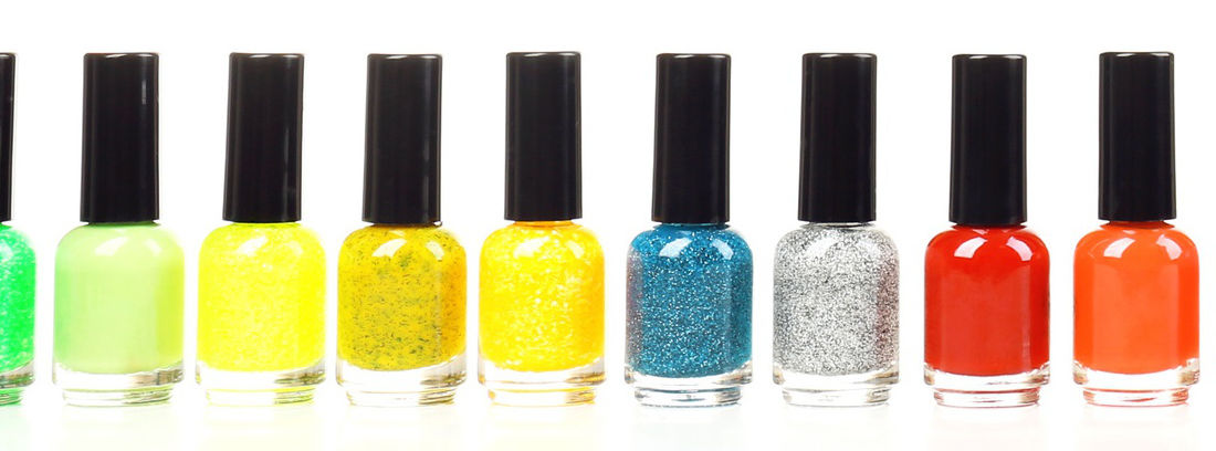 Smalti Colorful nail polishes