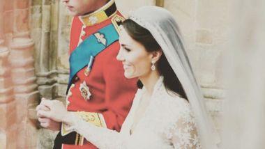 William e Kate il giorno delle nozze
