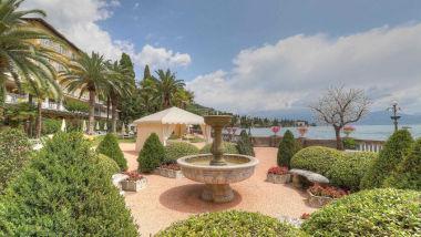 Grand Hotel Fasano fontana giardino