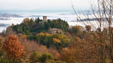 Castello di Petroia - Panoramica