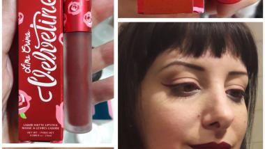 wicked limecrime liquidlipstick and eyeliner