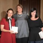Vincitrici del Premio Barbara Vitti Mita Altomare, Ufficio Stampa Valentino ( miglior ufficio stampa moda) e Monica Re, Studio RE (miglior ufficio stampa bellezza)