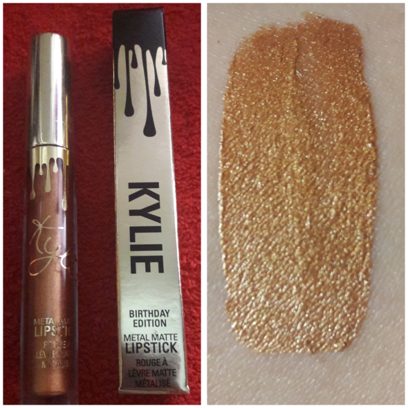 Lord metal swatch kylie cosmetics