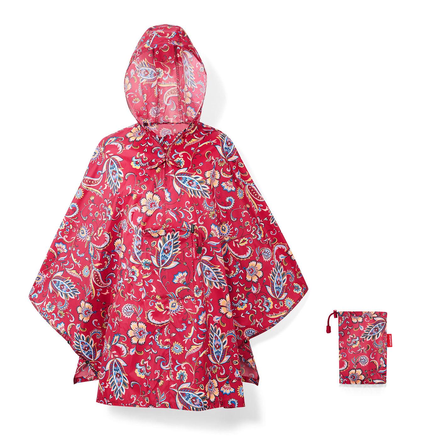 reisenhtle-mini-maxi-poncho-paisley-ruby