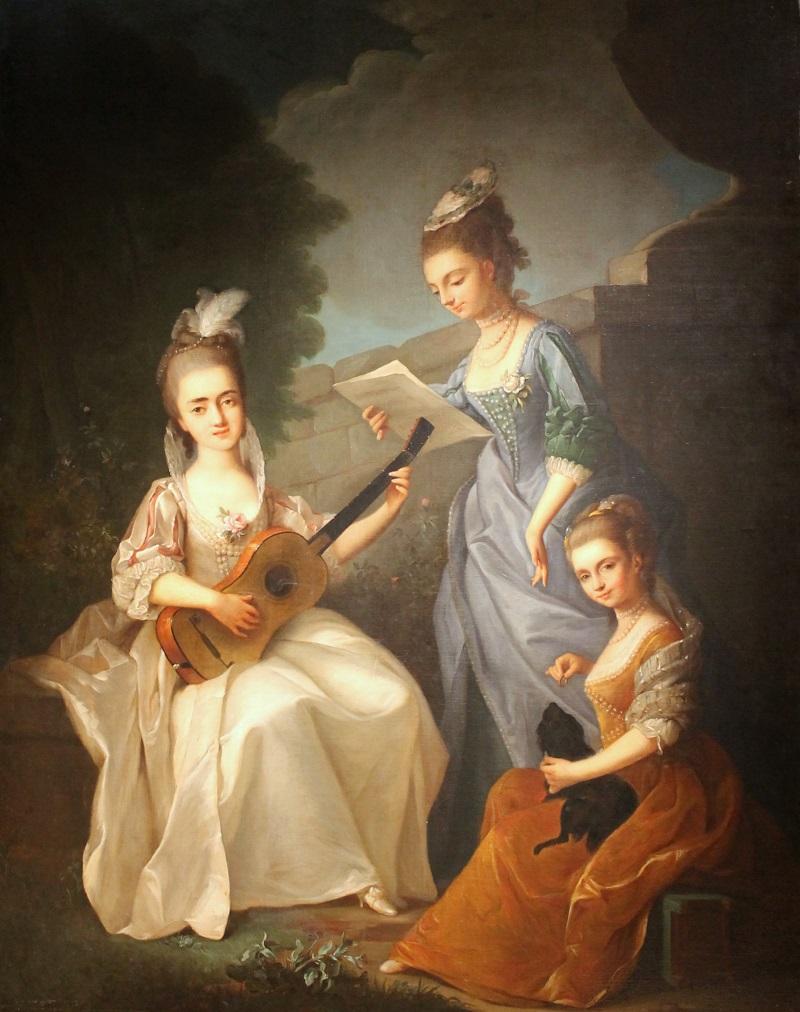 16-violante-beatrice-siries-firenze-1709-1783-tre-dame-in-giardino-olio-su-tela-cm-148x110-firenze-chiara-esposito-rid