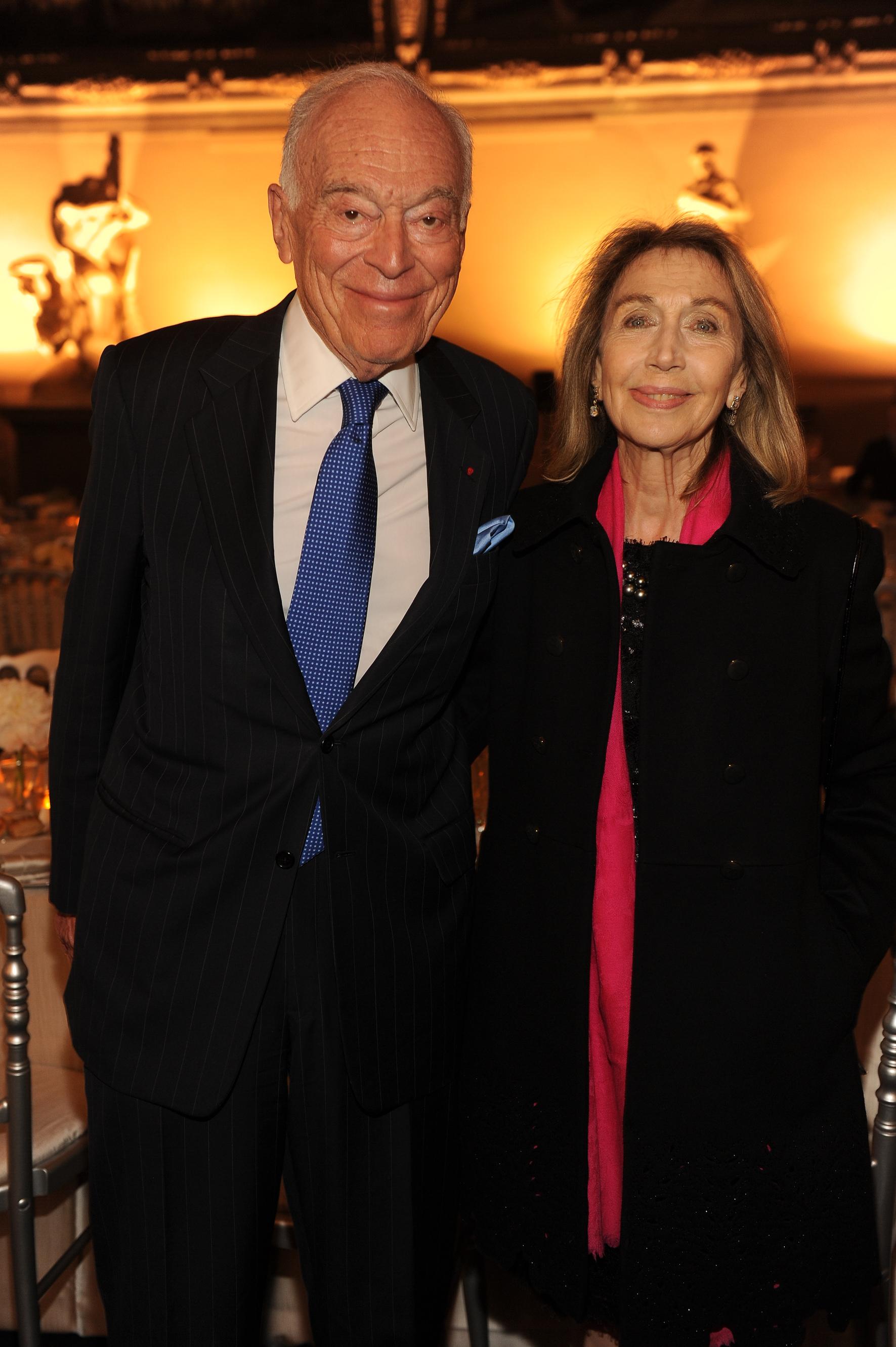 Leonard Lauder e la marchesa Cristina Pucci