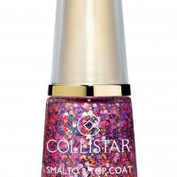 Collistar SMALTO_TOP COAT EFFETTO PAILLETTES_643 coriandoli rosa euro 6,60