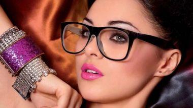 make up occhiali 1