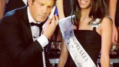 Fabrizio Frizzi a Miss Italia