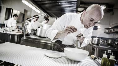 Riccardo Camanini. chef ristorante Lido 84