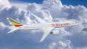 Ethiopian Airlines 787 ETH in-flight